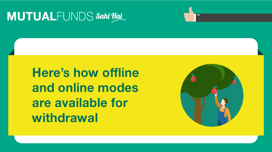 how to withdraw money from mutual funds mutual funds sahi hai