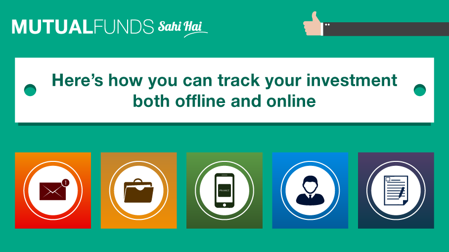 How can I track my investments on a regular basis?