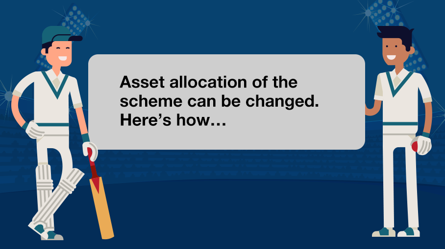 Can a Mutual Fund change the asset allocation while deploying funds of investors?