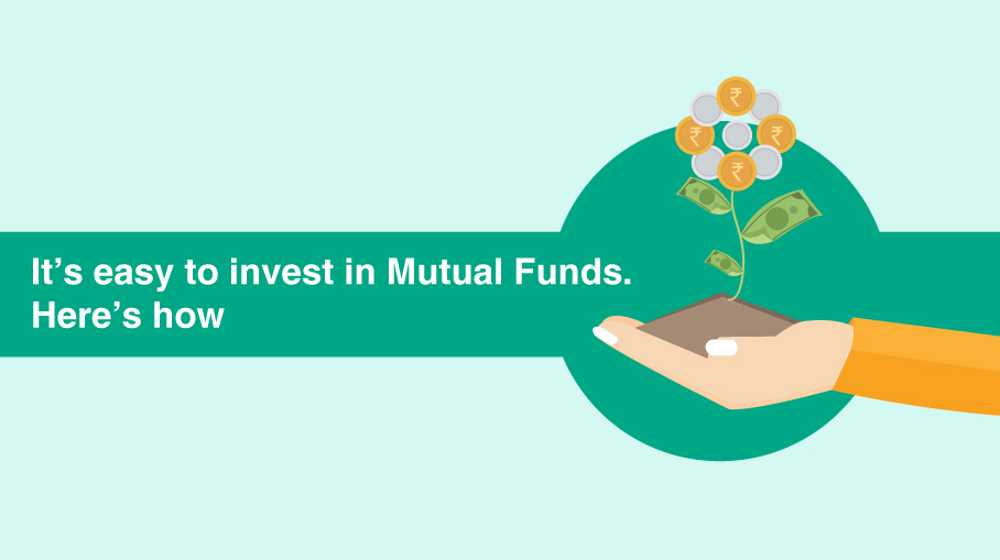 Infographic about how to invest in mutual funds