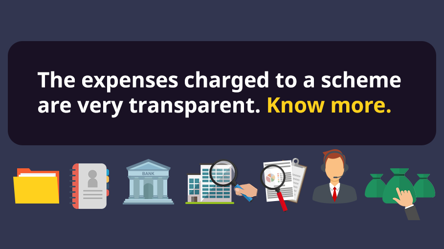 What are the expenses incurred in a Mutual Fund scheme?