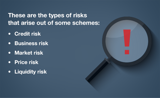 What is the risk of investing in Mutual Funds?