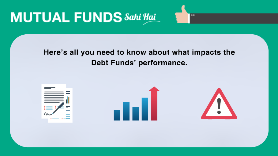 What impacts the performance of Debt Funds?
