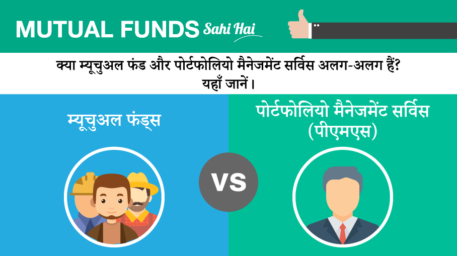 How are Mutual Funds different from Portfolio Management Schemes?