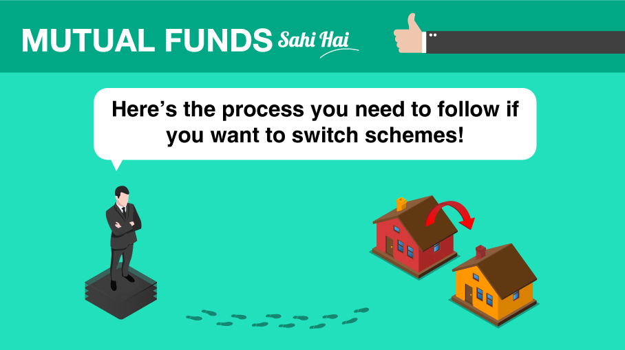 Can I switch investments from one scheme to another of a Mutual Fund?