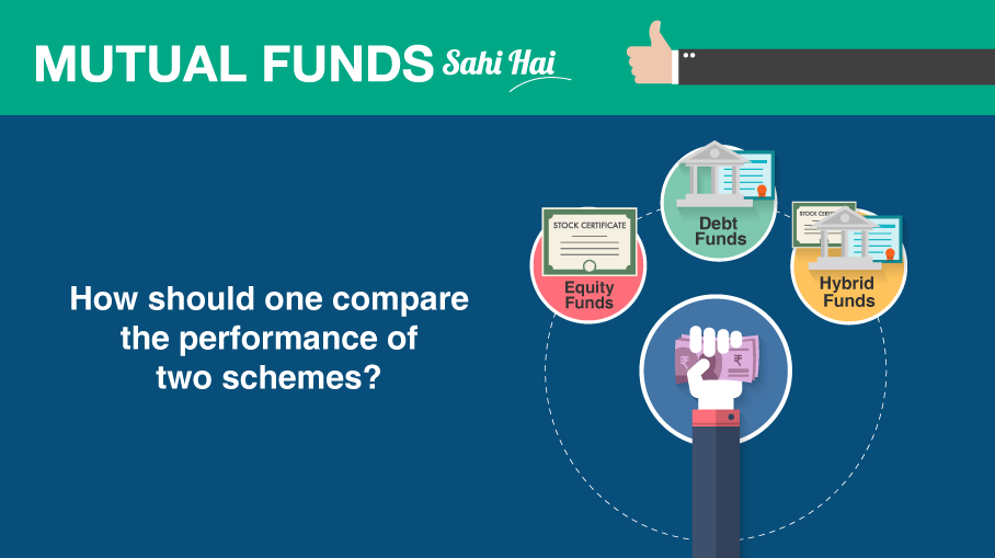 How should one compare the performance of two schemes?