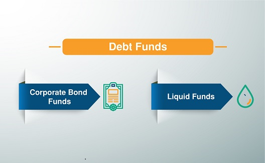 What are the different types of Debt Funds?