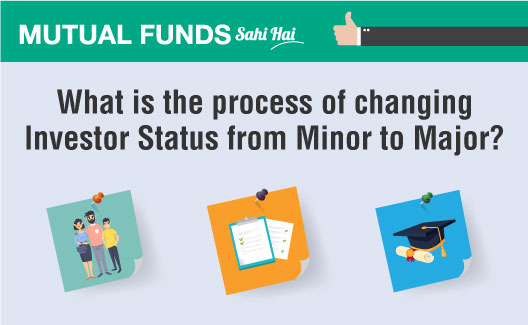 What is the process of changing Investor Status from Minor to Major?