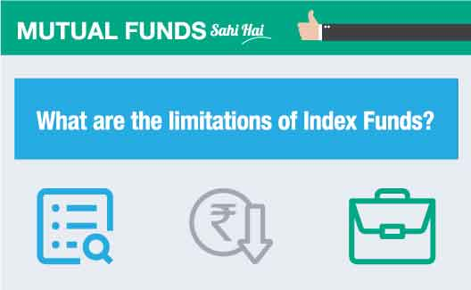 What are the limitations of Index Funds?