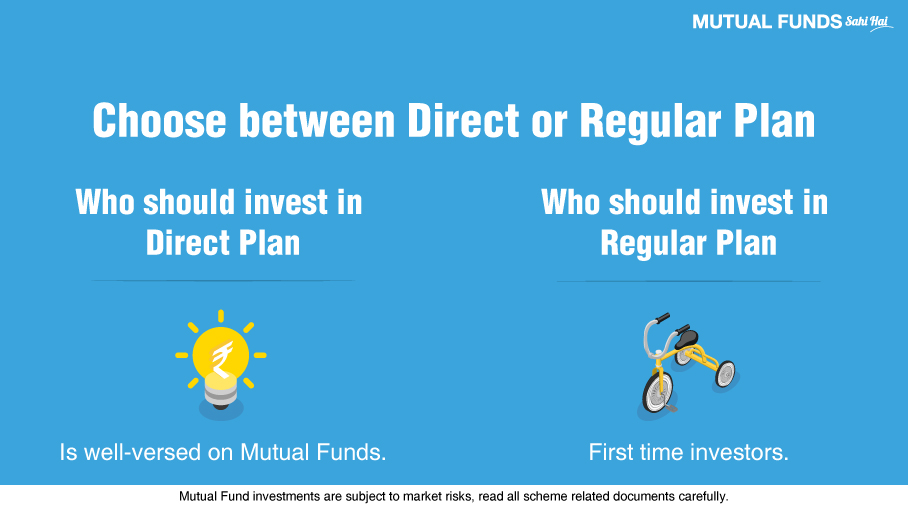 How to Choose between Direct and Regular Plan in a Mutual Fund?