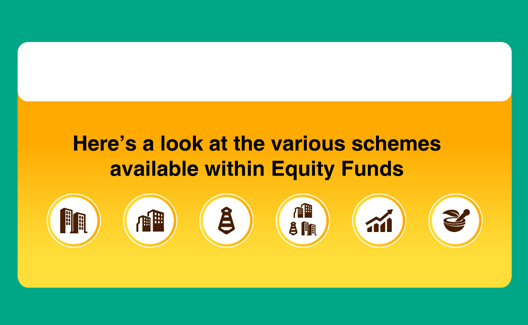 Are there different kinds of equity funds available?