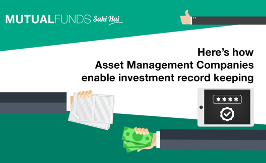 Who keeps a record of my investments?