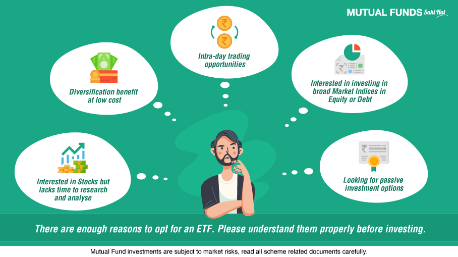 Why should you invest in ETF?