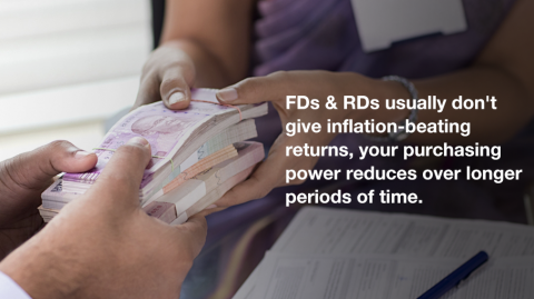 Aren't RDs and FDs enough to secure the future?