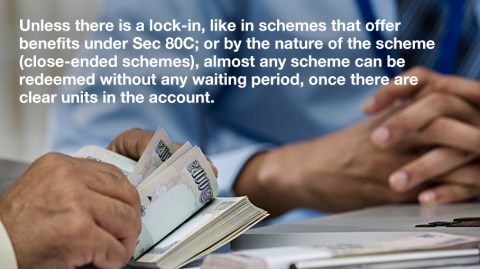 How soon can I withdraw my money from Mutual Funds? Are there any charges?