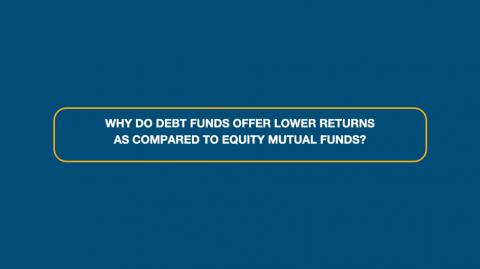 Debt Funds vs Equity Mutual Funds in terms of Returns