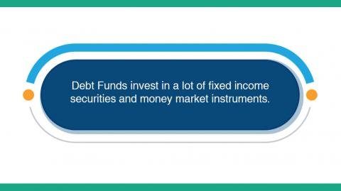 Debt Funds Invest in Fixed Income Securities and Money Market Instruments