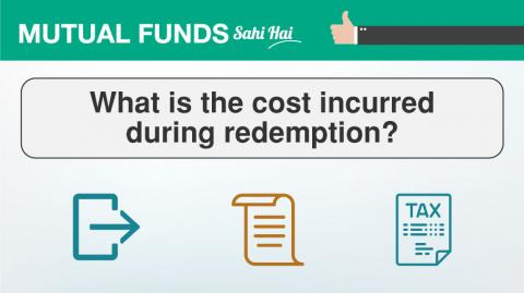 What costs does one incur while redeeming Mutual Fund units?